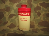 Tooth Powder - COLGATE - PX - US Army USMC WWII WK2 Personal Effects