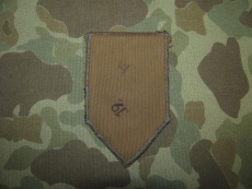1st Infantry Division Patch - BEVO made - US army Occupation - post WWII