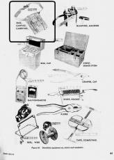 Demolition Tool Bag - Tasche f. Sprengwerkzeug - US Army USMC Vietnam EOD Tunel Rat