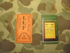 2x Zigarettenpapier, RIZ LA CROIX + HALF & HALF, US WWII WK2