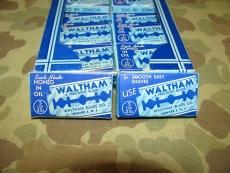 Razor Blades - WALTHAM - Rasierklingen - US WWII WK2