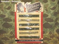 Watch Strap - Uhrenarmband - OLIVE OD#7 - US WWII WK2
