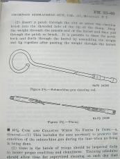 Cleaning Thong Reiningungsschnur M1 Garand, M-1903 Rifle, Thompson M-1928, US WWII WK2