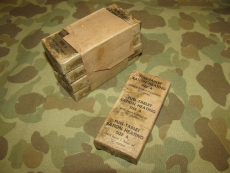 Fuel Tablets Bar, waxed - für C-Ration - US Army WWII WK 2