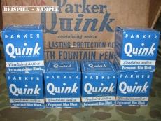 QUINK Ink Well - Tintenfäßchen - mit orig. Inhalt - US Army USMC WWII WK2