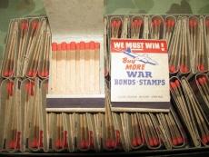 Matchbook - Streichhölzer - BUY WAR BONDS - US USMC WWII WK2