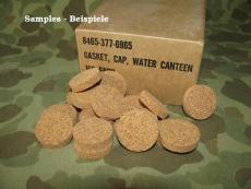 M-1910 Canteen Gasket, Kork Dichtung US WWII Korea Vietnam