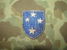23rd Infantry Division Patch AMERICAL - CUT EDGE - US WWII WK2