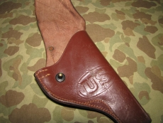 MP .38 VICTORY Revolver Holster - US Army Military Police WWII WK2 Korea Vietnam
