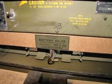 BA-38 Dummy Battery, Batterie für BC-611 Radio u. SCR-625 Mine Detecor - US Army USMC WWII WK2