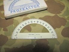 PROTRACTOR - Winkelmesser f. Kartentasche / M-1938 Map Case - US WWII WK2 Vietnam