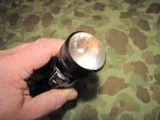 TB-8 U.S.N. Flashlight - Taschenlampe - US Navy USMC WWII WK2