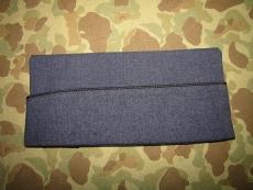 Overseas Cap / Garrison Cap, Enlisted - Size 7 1/8 - Dress Blue - US Air Force Vietnam