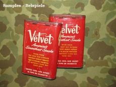 Tabakdose - Tobacco Tin - VELVET - US Army USMC WWII WK2