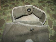 BG-151 Antenna Bag für BC-1000 / SCR-300 Funkgerät, Radio Signal Corps US Army WWII WKII & Später