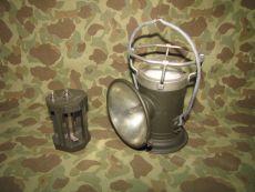 MX-290/GV DELTA POWERLITE electrical Lantern - Batterielampe - US Army USMC WWII WK2