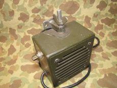 Loudspeaker LS-166/U, Funkgerät Lautsprecher, Radio Speaker - US Army USMC Vietnam Korea