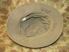 Daisy Mae Hat - HBT / Herring Bone Twill Boonie Hat - 7 1/4 - 58cm - US Army USMC WWII WK2
