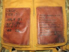 B-5 Life Preserver - 1945 - MAE WEST - US Army Air Forces AAF WWII WK2