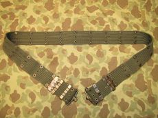 M-1956 Pistol Belt, Koppel - Size LONG - US Army USMC Vietnam