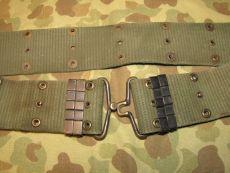 M-1956 Pistol Belt, Koppel - Size MEDIUM - US Army USMC Vietnam
