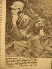 M-1951 Field Cap / Patrol Cap - Size 7 - ca. 57cm - US Army Vietnam Berlin Brigade Korea