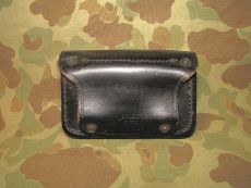 MP Leather First Aid Pouch + First Aid Dressing - 1969 - US Army USMC Military Police