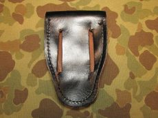 MP Leather Handcuffs Pouch - Handschellentasche -  US Army USMC Military Police