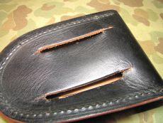 MP Leather Handcuffs Pouch - Handschellentasche -  US Army USMC Military Police