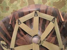 MP M1 Helmet Liner - Westinghhouse - US Army WWII Military Police