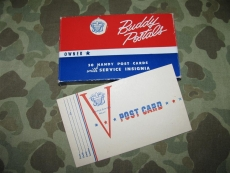Victory V-Post Card - Buddy Postal - US NAVY WWII