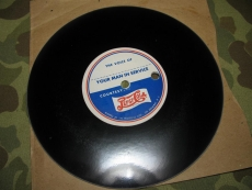 VOICE LETTER RECORD - by Pepsi Cola - US Army USMC WWII WK2