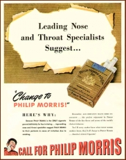 Cigarette Pack Wrap - PHILIP MORRIS - Original - no Reprint