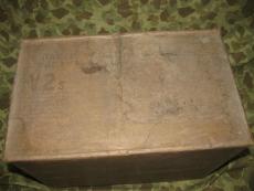 Onion Powder Ration Tin - datiert 1945 - US Army USMC WWII WK2