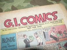 G.I. Comics #20 - 1945 - printed by Special Service Division - US WWII WK2