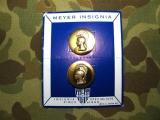 Collar Discs - Womens Army Corps - WAC - US WK2 WWII - Vietnam