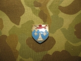12th Infantry Regiment Unit Crests - 4th Infantry Division - US Army WWII WK2