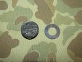 Equipment Marking Tag - INFANTRY - US Army WWI WK1 / Interwar