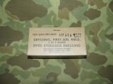 First Aid Dressing - für Combat Medics - 1960 - US USMC Vietnam