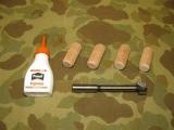 Feldbett Reparatursatz - Field Cot Repair Kit - für Holz Feldbetten US Army US WWII Vietnam