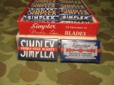 Razor Blades - SIMPLEX - Rasierklingen - US WWII WK2