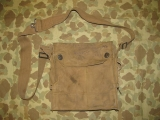 WWI Gas Mask Bag - Gasmaskentasche - AEF - US WWI Interwar