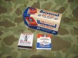 15x Matchbooks - Streichhölzerbriefchen - BUY WAR BONDS - US Army USMC WWII WK2