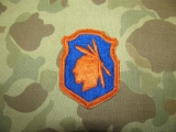 98th Infantry Division IROQUOIS Patch - US PTO WWII WK2