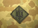 18th Engineer Brigade Patch - Subdued on Twill, US Army Vietnam