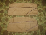 2x Overseas Cap - MEDICAL CORPS - Sz. 7 1/4 - US Army WWII WK2