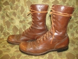 Paratrooper Jump Boots - 12 Eyes - US Army Airbone WWII WK2