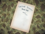 Schreibblock - Writing Pad - USMC US Marine Corps Vietnam