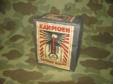 10x Dutch KAMPIOEN Safety Matches - German Occupation - WWII WK2