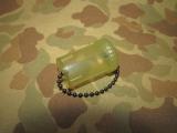 Ear Plug Case - Behälter für Gehörschutz oder Tabletten - US Army USMC Vietnam